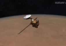 Mega impact on Mars